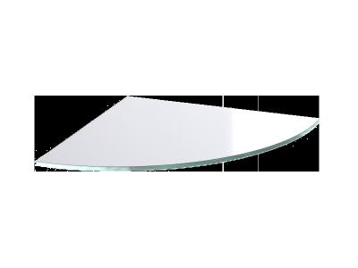etagere d'angle en verre 15x15