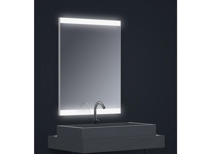 miroir r tro clair tech 39 no led dual lateral rectangle. Black Bedroom Furniture Sets. Home Design Ideas