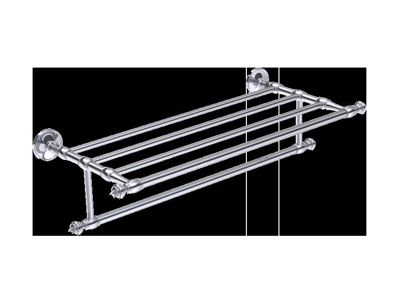 Rack tag re 53 cm porte serviette elyseum chrom for Porte 53 cm