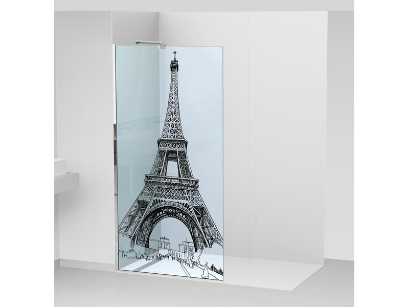 Sérigraphie ou impression numérique sur verre ou film type Evasafe